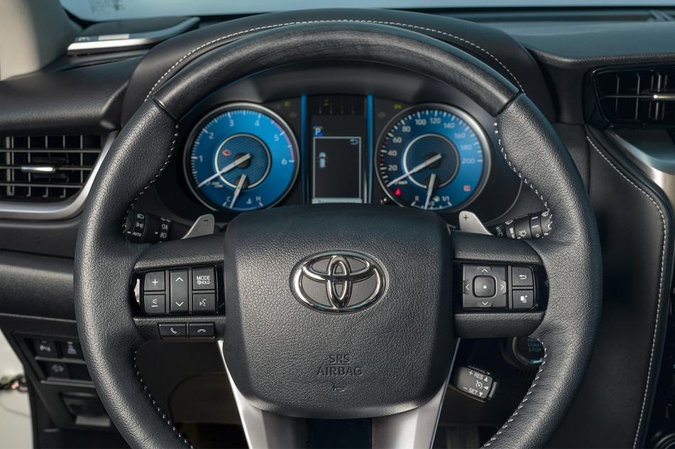 Обновленный Toyota Fortuner