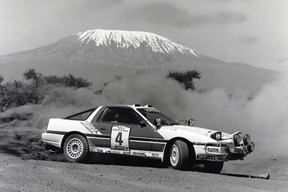 Toyota Celica и Килиманджаро