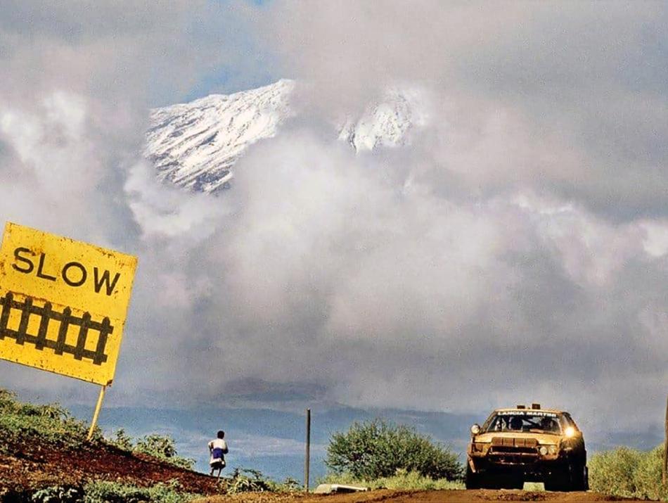 ралли «Сафари» гора Килиманджаро