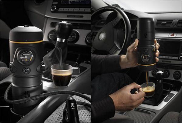 Кофемашина для автомобиля