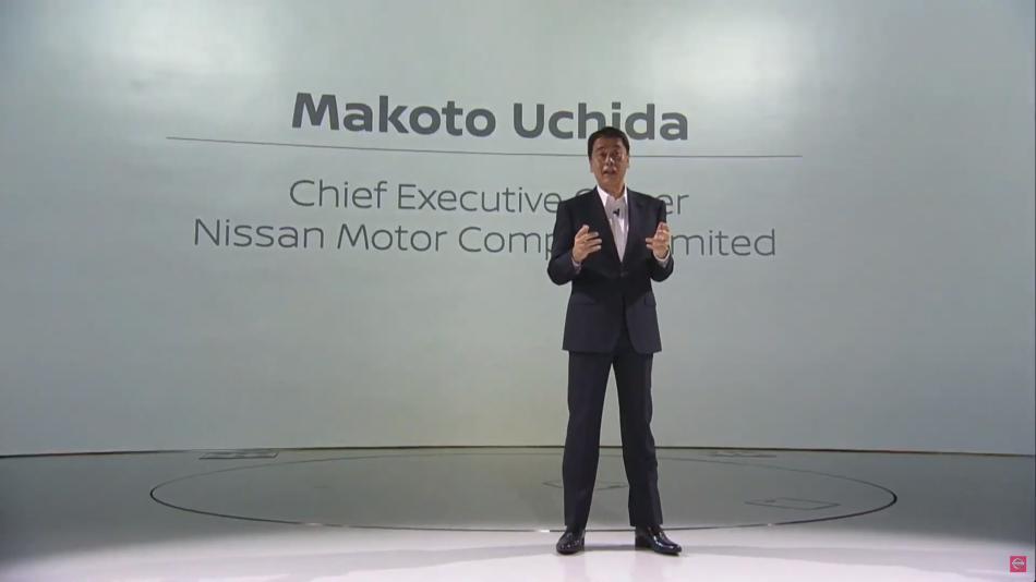 генеральный директор Nissan Макото Учида Makoto Uchida