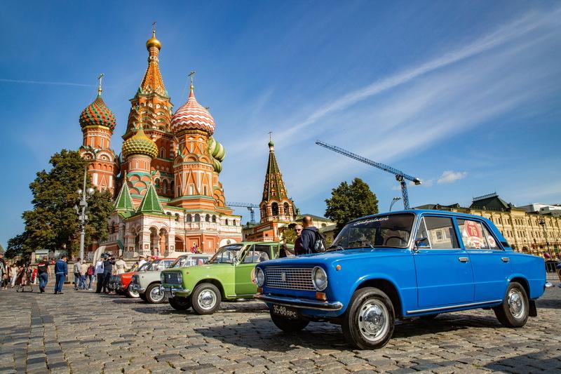 Автомобили СССР: фото с «ГУМ Авторалли»-2020