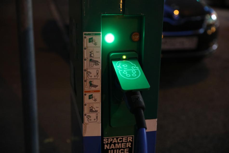 зарядка для электромобиля в москве
