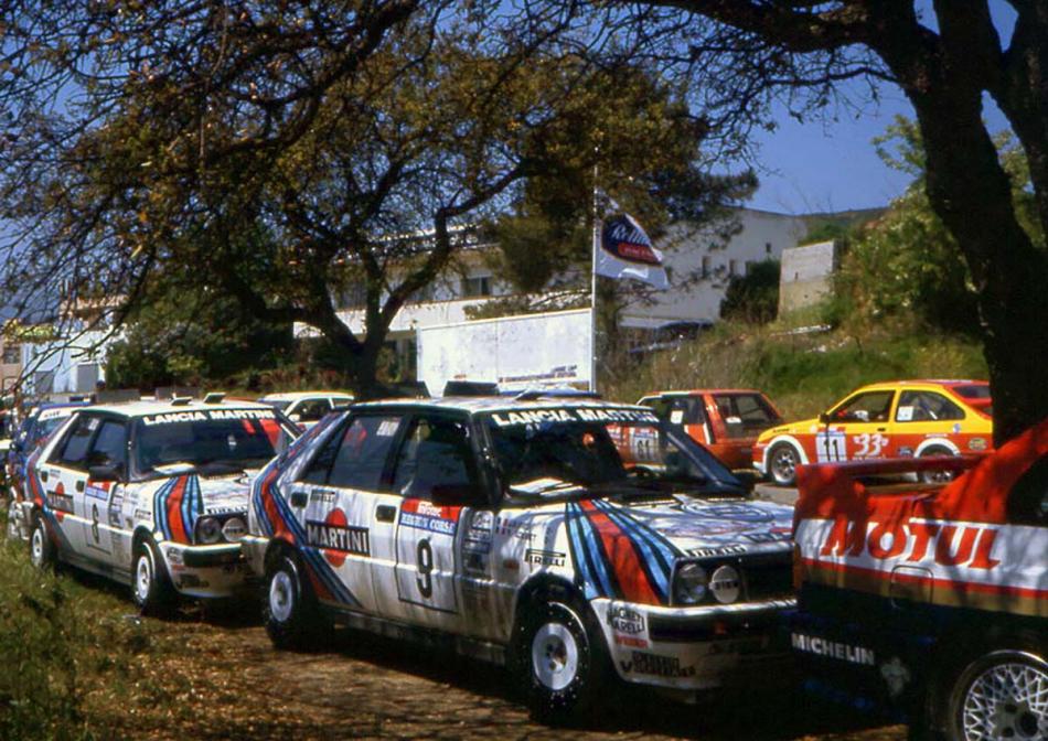 Ралли «Tour de Corse - Rallye de France» 1987 года