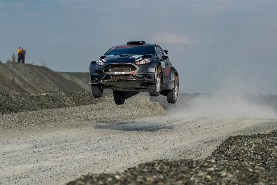 Ford Fiesta R5 Игоря Буланцева