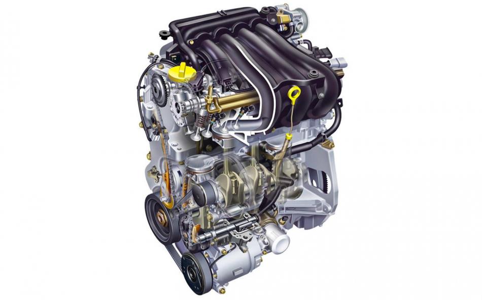 Renault Logan 2 двигатель H4M