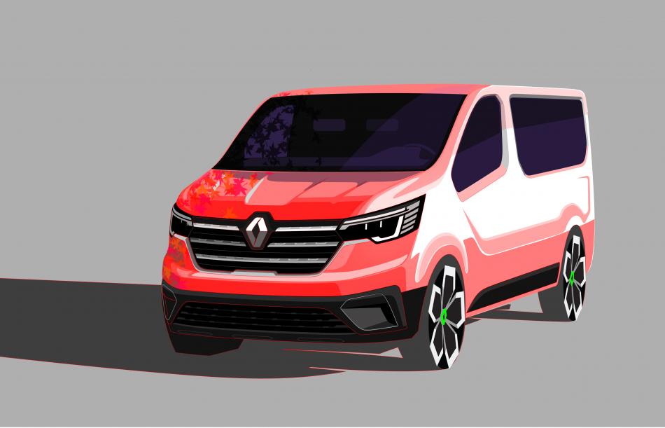 Renault Trafic эскиз
