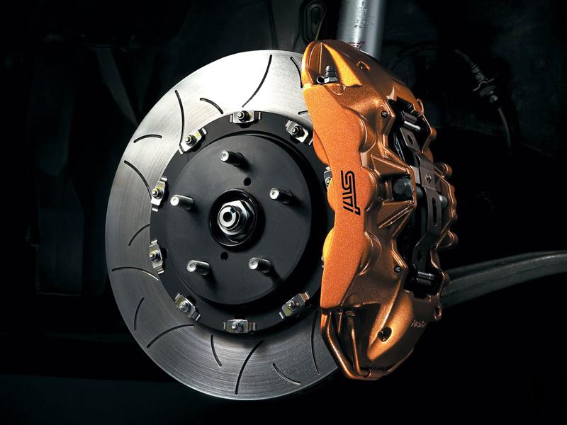 Спортивный дисковый тормоз Subaru