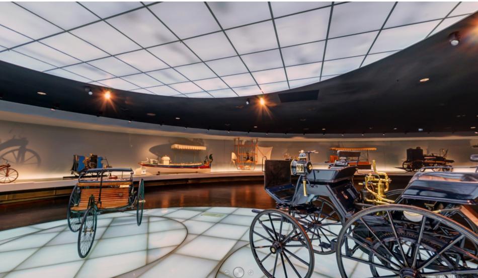 Виртуальный тур по музею Mercedes-BEnz