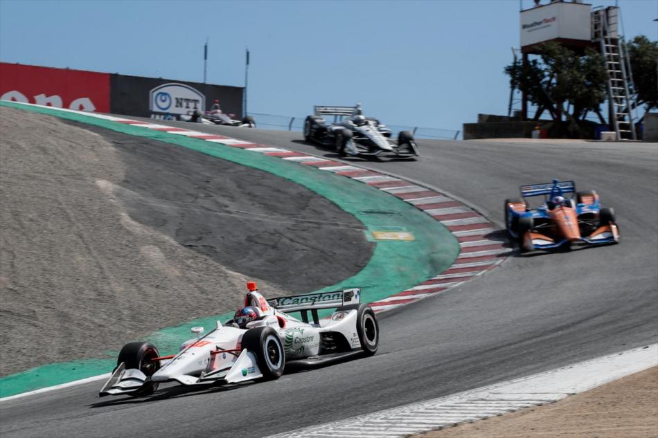 Этап IndyCar в Лагуна-Секе