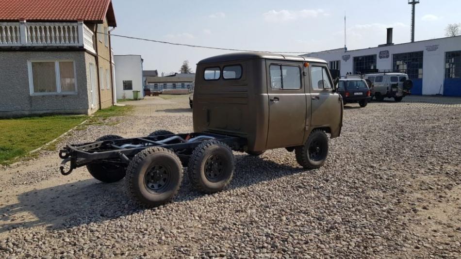 УАЗ 6 колес Германия