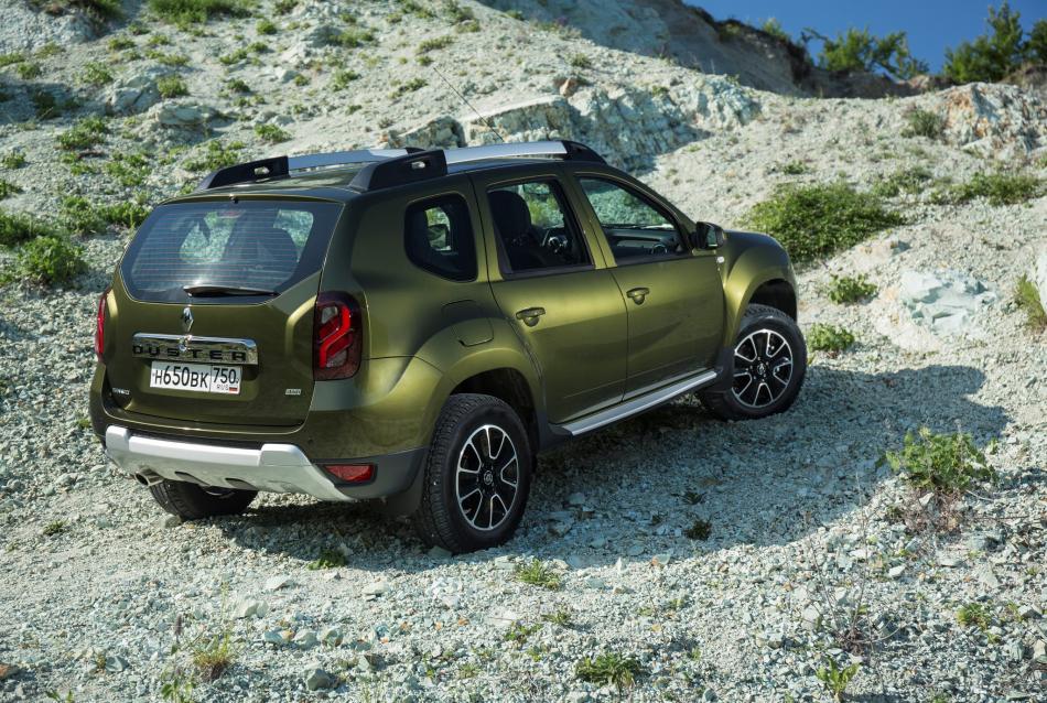 Renault Duster для российского рынка образца 2015 года