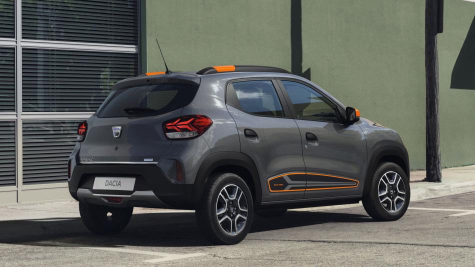 Электрический кроссовер Dacia Spring