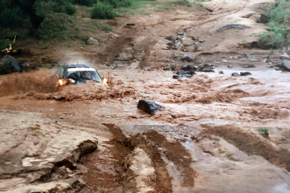 А-групповая Subaru Impreza 555 в которой находятся Джимми Макрей и Кен Риз