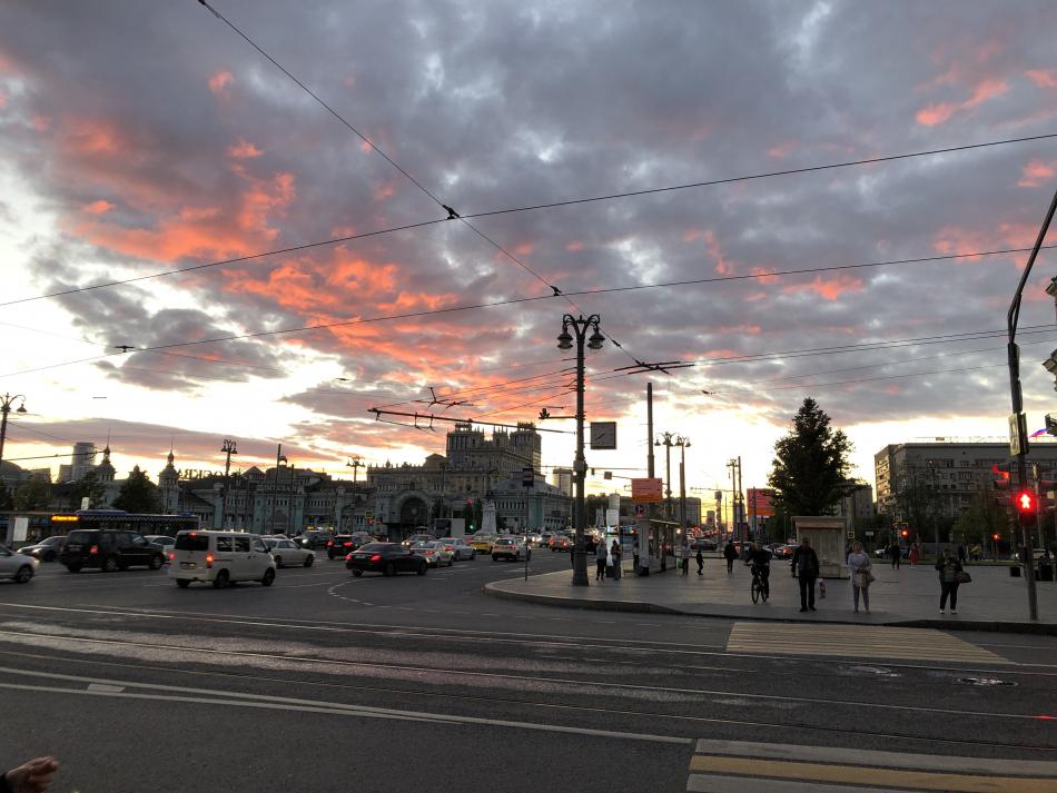 Москва пробка