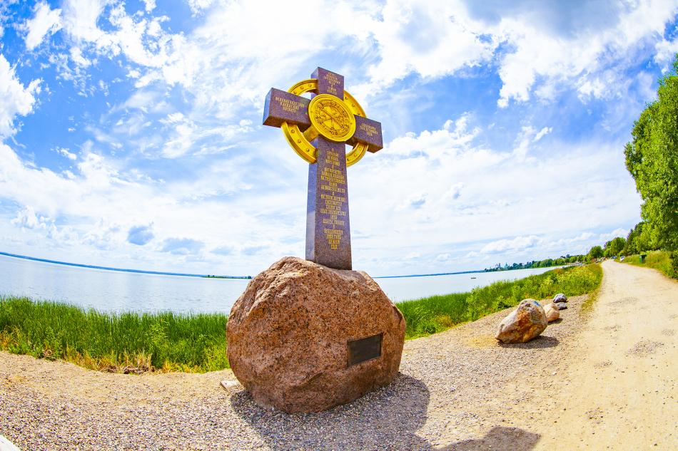Поклонный крест Ростов Золотое кольцо