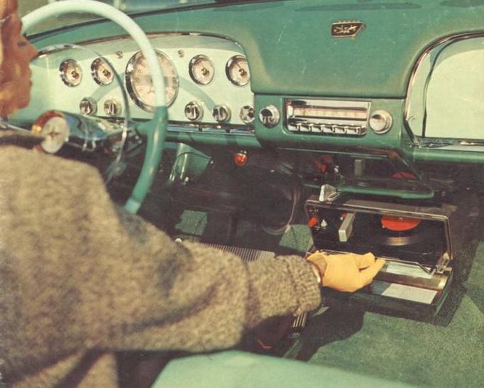 Первая в истории автомагнитола