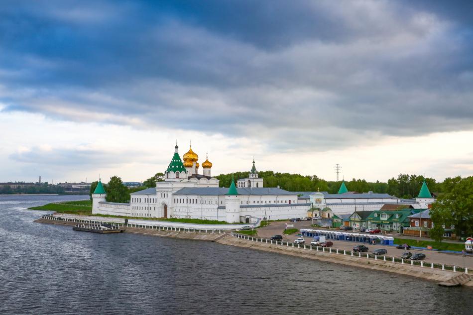 Ипатьевский монастрь в Костроме