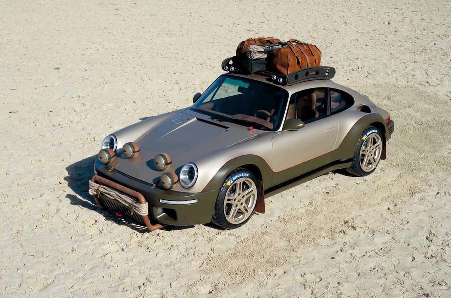 Автомобиль Porsche для оффроуда