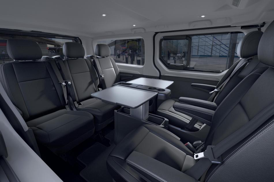 Renault Trafic интерьер